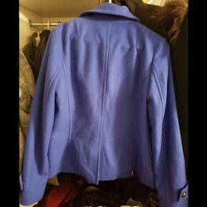 Banana Republic Jackets & Coats - Royal Blue Banana Republic Wool Peacoat Size M